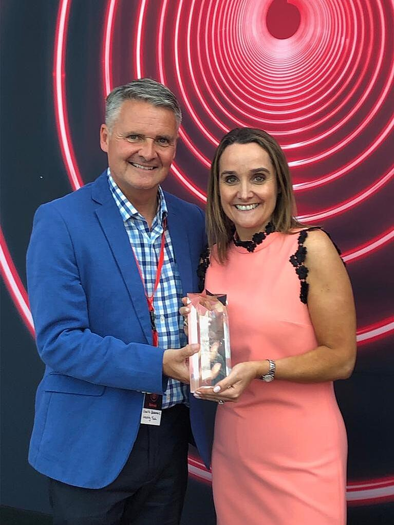 Intercity Wins ISP Partner of the Year at the Vodafone Partner of the Year Awards