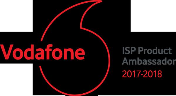 Intercity wins ISP Product Ambassador Award at Vodafone Partner of the Year Awards 2018