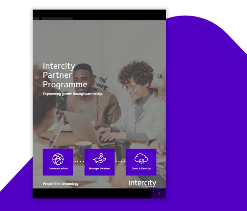 Intercity Partner Programme 1-1