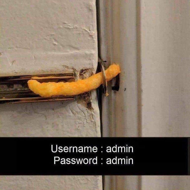 Password, let's try 'Password' | Online Security - Intercity