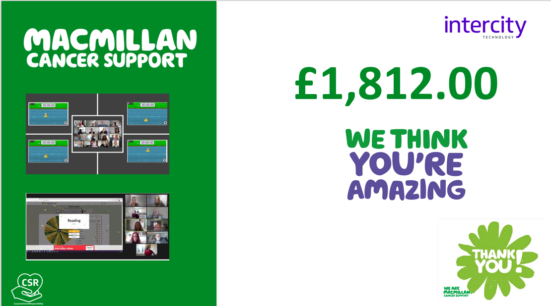 Supporting Macmillan, From Anywhere